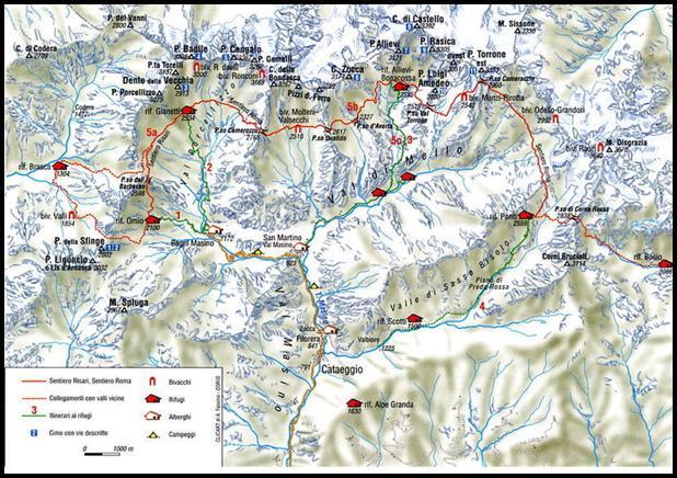 Val Masino - Sentiero Roma - Lettura CAI Conegliano